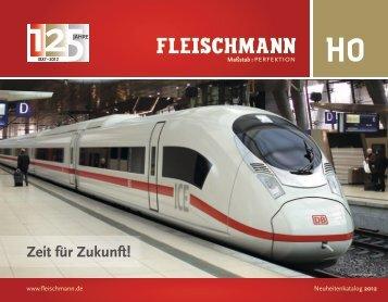 Fleischmann H0 Neuheiten 2012