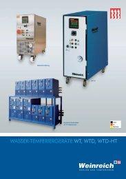 wasser-temperiergeräte wt, wtd, wtd-ht - Weinreich Industriekühlung ...