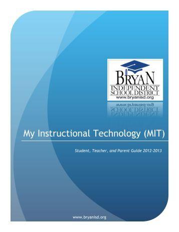to download MIT guidelines. - Bryan Independent School District