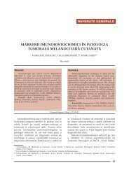 Markerii imunohistochimici in patologia tumorala melanocitara ...
