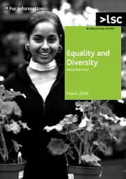 Equality & Diversity Booklet - Northern Racing College
