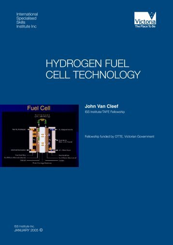 Hydrogen Fuel Cell Technology - International Specialised Skills ...