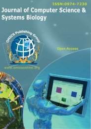 Journal of Computer Science & Systems Biology - OMICS ...