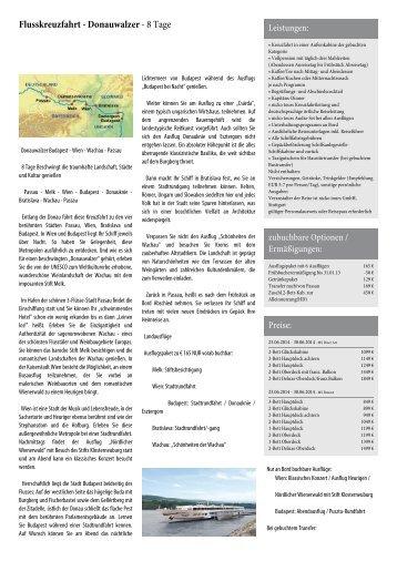 Flusskreuzfahrt - Zauberhaftes Südfrankreich - komm-mit-reisen.eu