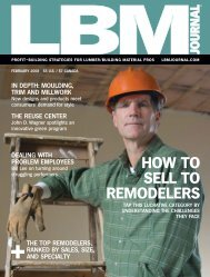 HOW TO SELL TO REMODELERS - International Builders' Show