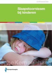 Kinderen met slaapproblemen - Kempenhaeghe
