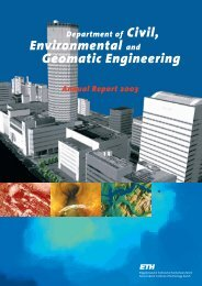 Environmental and Geomatic Engineering - Departement Bau ...