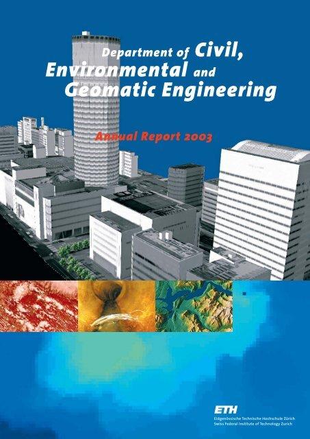 Environmental and Geomatic Engineering - Departement Bau ...