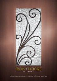 Iron Doors Unlimited Consumer Brochure - International Builders ...