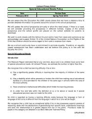 Special Educational Needs Policy - Spanglefish