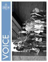 voicethe ma gazine of charlo tte christian school - 2009-10 issue 2 ...