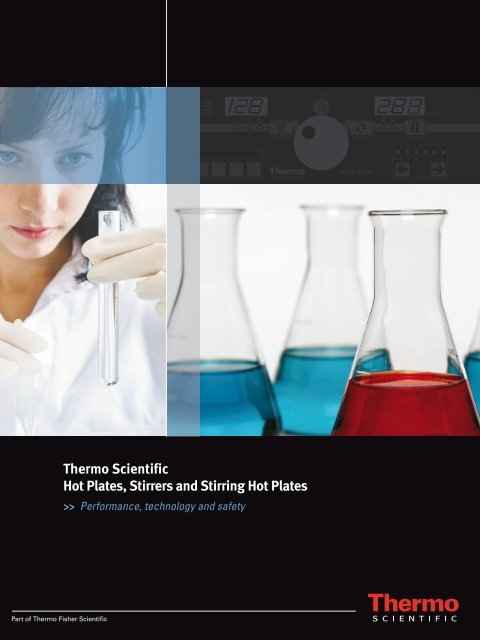 Thermo Scientific Hot Plates, Stirrers and Stirring ... - Thermo Fisher