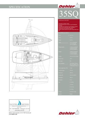 SPECIFICATION - Yachting Partners