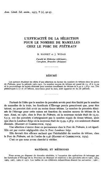 PDF (302.3 KB) - Genetics Selection Evolution