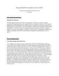 Regional Panel Recommendations - Aquatic Nuisance Species ...