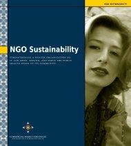 NGO Sustainability - (SHOPS) project