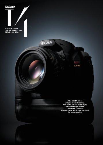 Digital single lens reflex camera - SIGMA SD