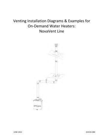 Direct-Vent Roof Termination - American Water Heaters