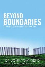 boundaries beyond - Dr. David Jeremiah
