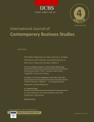 Contemporary Business Studies - Academy of Knowledge Process