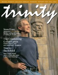 Fall 2003 - Trinity College - University of Toronto
