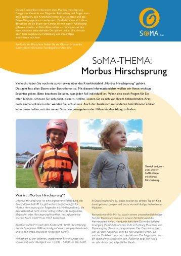 SoMA-THEMA: Morbus Hirschsprung - SoMA eV