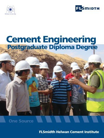 Cement Engineering - Helwan University