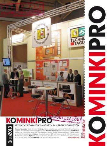 Kominki Pro nr 5, 3/2010 - Informator Handlowy Zaopatrzeniowiec