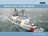 F77 USER MANUAL SAILOR 55 Fleet+ GettInG StARted - GMPCS ...
