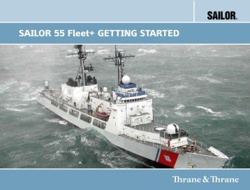 F77 USER MANUAL SAILOR 55 Fleet+ GettInG StARted - GMPCS ...