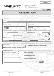 Application Form - Vysoká škola manažmentu