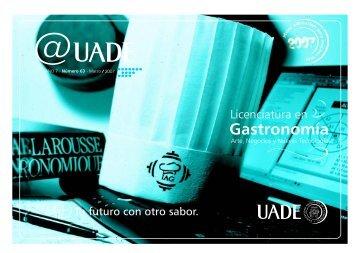 @uade 58 AGOSTO.pmd - Universidad Argentina de la Empresa