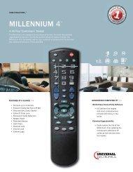 DC60Xu Remote Control •