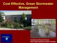 Green Stormwater Infrastructure - Lancaster County Clean Water ...