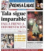 FALLA FRENO A DEFORESTACIÓN - Prensa Libre