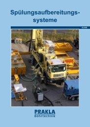 Spülungsaufbereitungs- systeme - PRAKLA Bohrtechnik GmbH