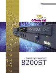 8200ST Brochure.indd - Orban