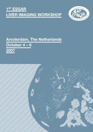 Liver Imaging Folder (PDF) - ESR - Congress Calendar