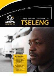 Tseleng September 2011 - nbcrfli.org.za