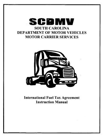 Ifta Sc Department Of Motor Vehicles