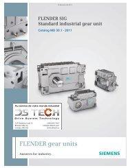 FLENDER gear Units - DS TECH
