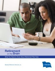 What You Need To Know About Retirement Plan Fees - The Standard