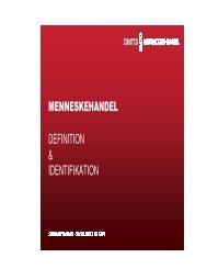 menneskehandel definition & identifikation - Socialstyrelsen