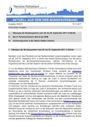 Aktuell 18/2011 - Deutscher Richterbund