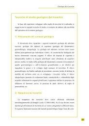 Tecniche di studio geologico dei travertini - Parco di Montevecchia e ...