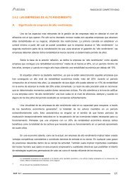 2.4.2 LAS EMPRESAS DE ALTO RENDIMIENTO A ... - Ardan