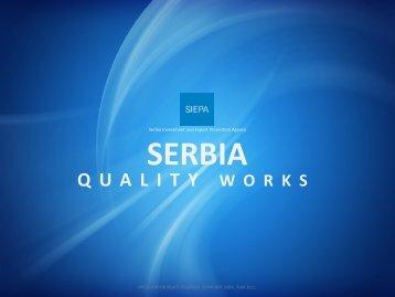 serbia quality works - Siepa