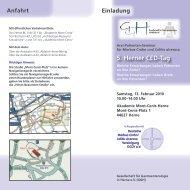 Download Einladung - Kompetenznetz CED Herne