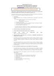 Registro Sanitarios de Alimentos - Ministerio de Salud