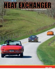 Download - Shenandoah Region Porsche Club of America